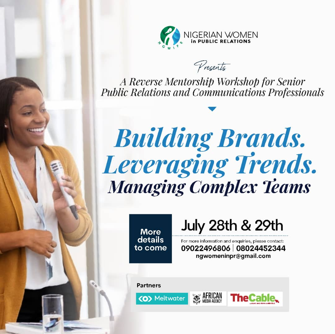 NWiPR Announces Date for its Inaugural Reverse Mentorship Workshop for Senior PR Professionals