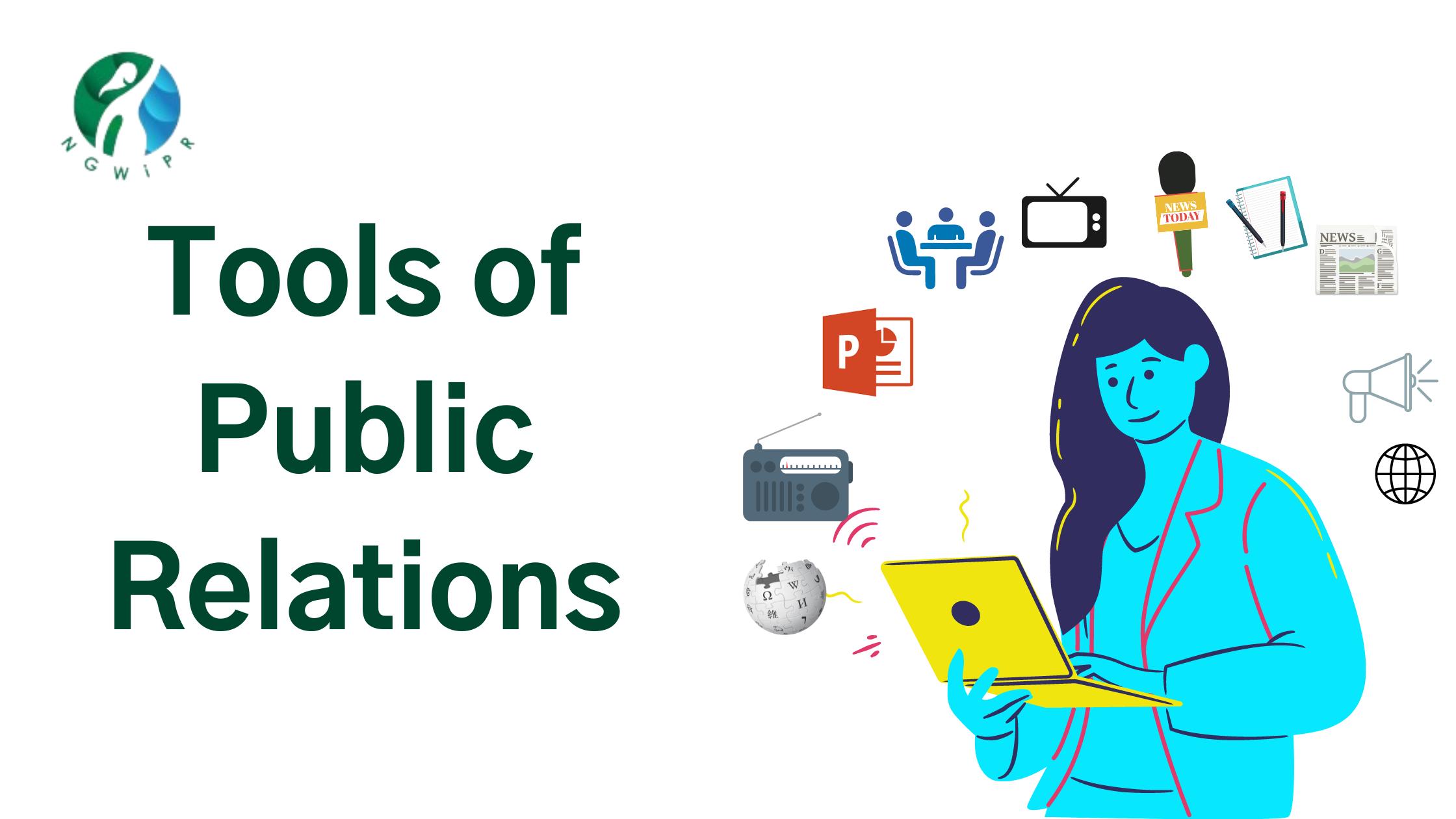 Tools of Public Relations